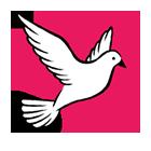 Vše o svatbě - znak holubice