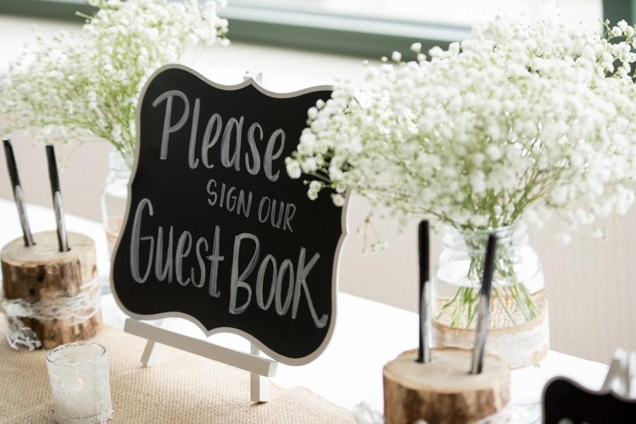 Kniha hostů podle stylu svatby.