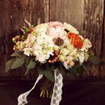 Jemná rustikální kytice