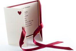 Jak ušetřit na svatebním oznámení