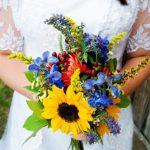 Perfektní kytice pro svatbu na zahradě
