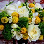Svěží kombinace pro jarní svatby
