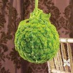 Zelená moderní koule