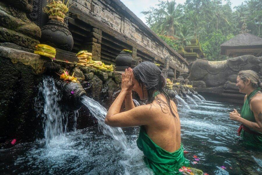 Líbánky na exotickém ostrově Bali