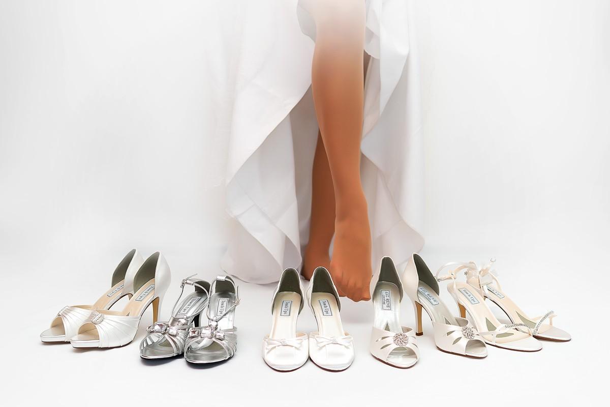 Sleva 3% na nákup svatebních střevíčků přes Vše o svatbě