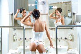 Fotoeditoriál: Sexy spodní prádlo nejen na svatbu