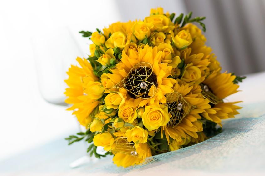 Zluta Svatba Slunecnice Citrony A Slunickovy Den Vse O Svatbe