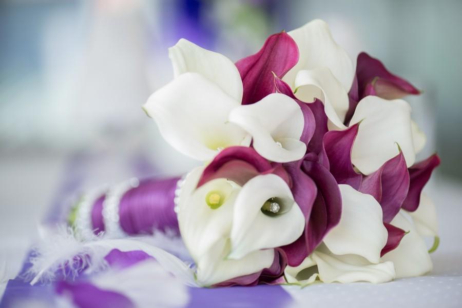 Uljanina vzpomínka na svatbu patří především svatební kytici.