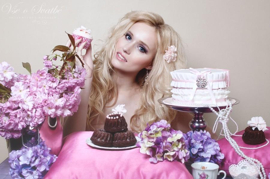 Fotoeditoriál Sweet palette a luxusní dorty.