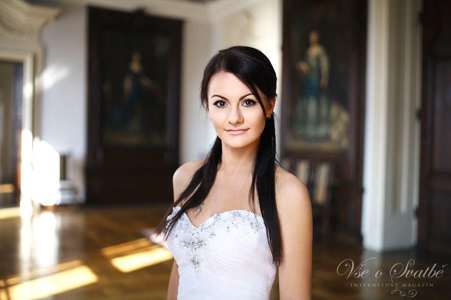 Focení svatebních proměn finalistek soutěže o Nejsympatičtější nevěstu roku 2014