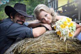 Svatební fotoeditoriál: Westernová romance