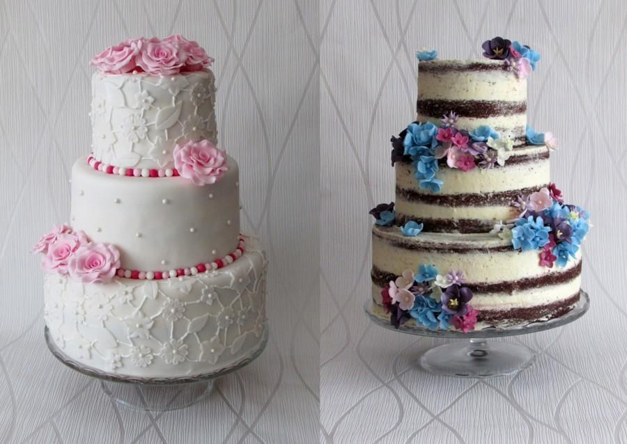 Každý svatební dort je jiný, ale všechny jsou krásné.