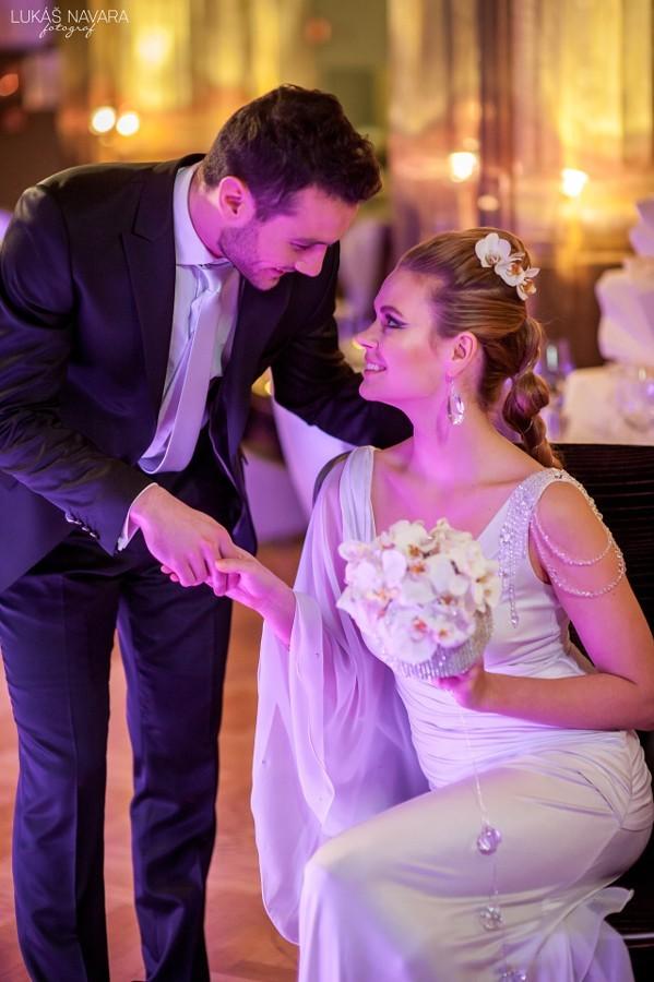 Na každé svatbě si novomanželé musí najít chvilku pro sebe.