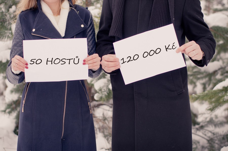 Zjistěte, kolik stojí svatba pro určený počet hostů. Svatební rozpočet na míru.