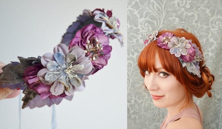 Doplňte svůj svatební účes trendy čelenkou do vlasů - Vše o svatbě 242516df67