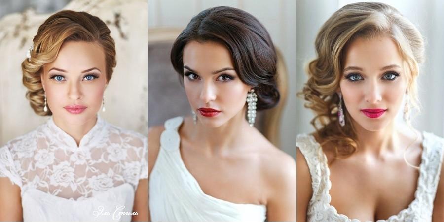 Nevěsty s krátkými vlasy mohou drdol vytvořit z příčesku.