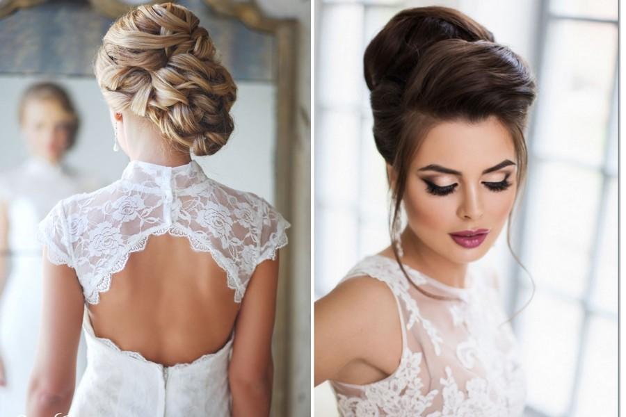 Blondýna nebo bruneta, dopřejte si krásný svatební účes.