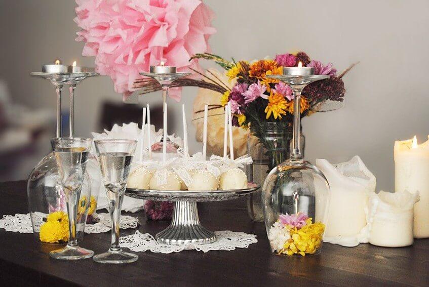 Nápady na občerstvení pro zásnubní party.