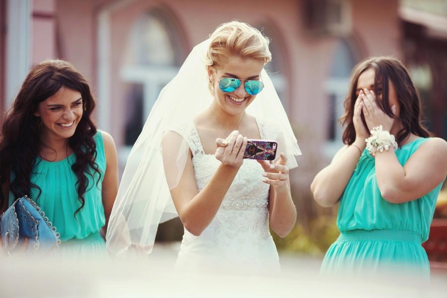 Nechte si detaily svatby pro sebe, dokud nebude vše zařízené.