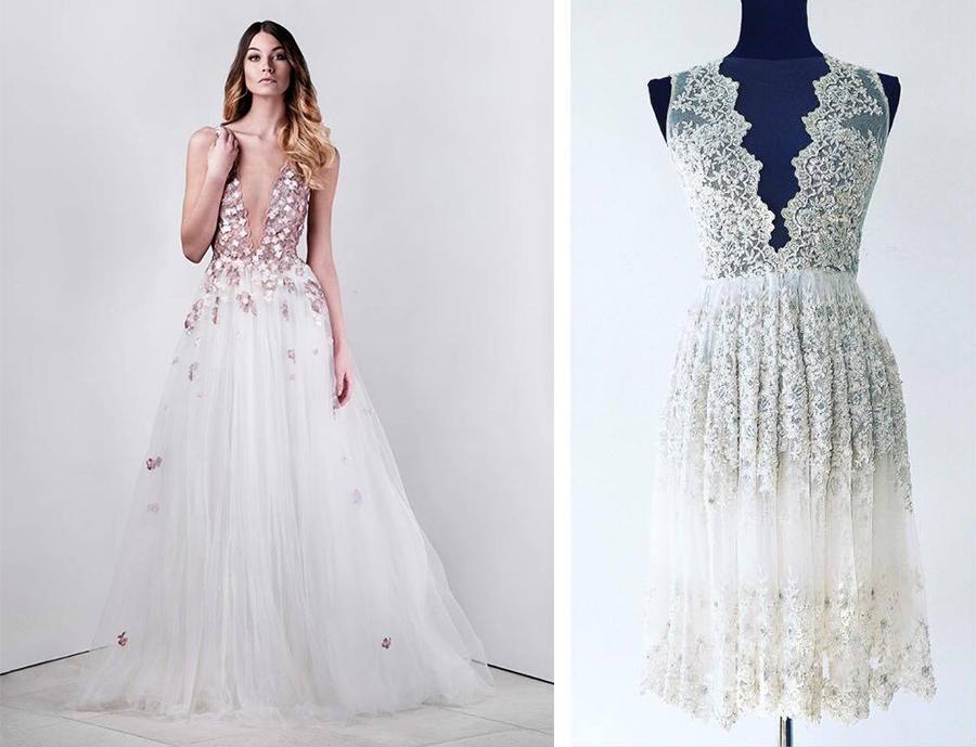784ccb9ed22 Značka PONER obléká nevěsty i celebrity do vyšívaných svatebních šatů