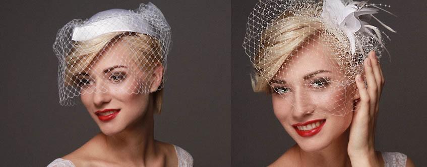 Alternativy svatebního závoje pro krátké i dlouhé vlasy