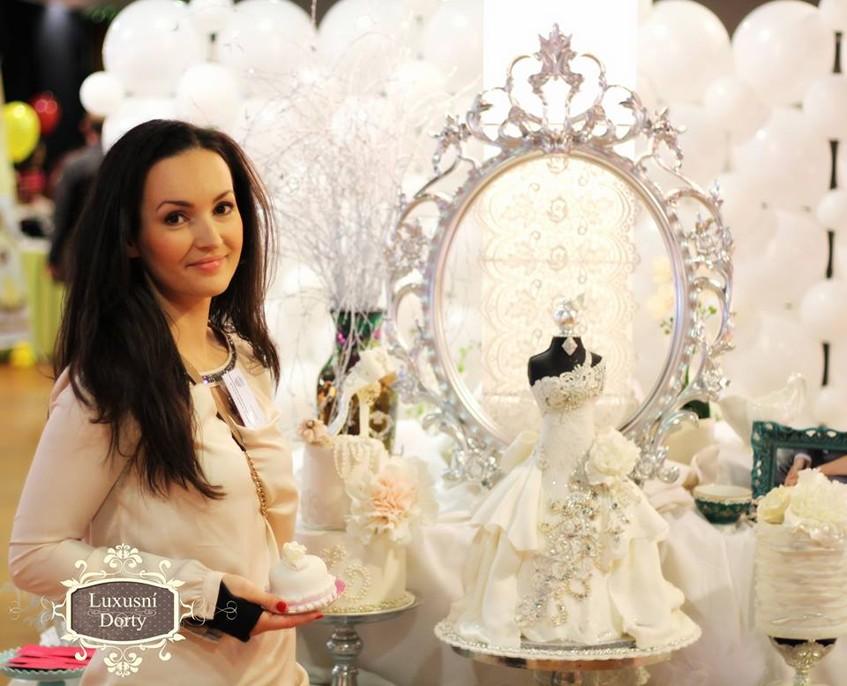 Jaroslava Kasálková je majitelkou Luxusních dortů.