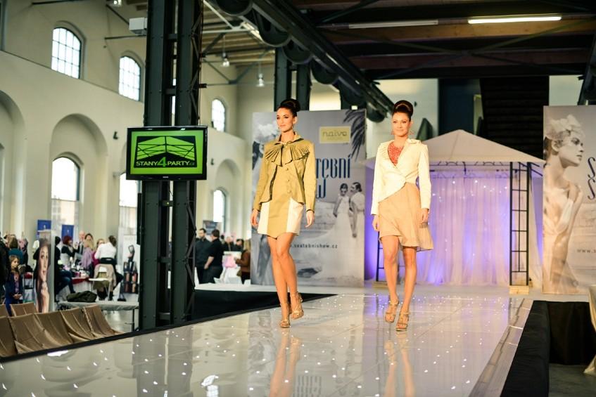 Přehlídka módy pro svatebčany