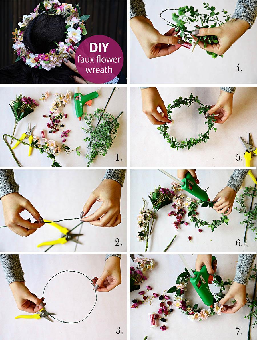 DIY - vyrobte si svatební věneček do vlasů - Vše o svatbě ♥ 294103f85e