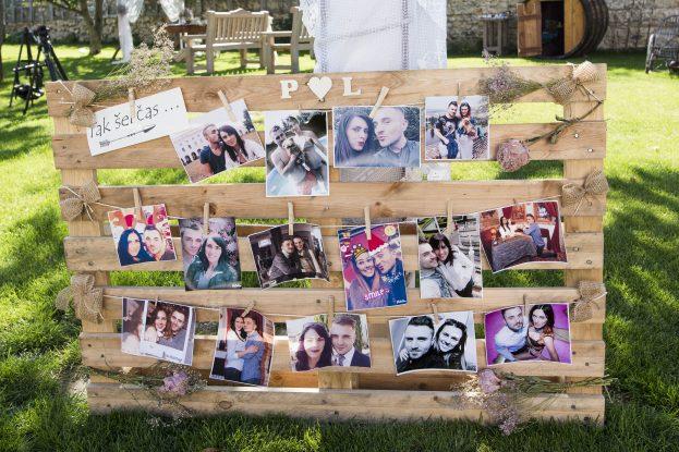 Společné fotografie na paletě.