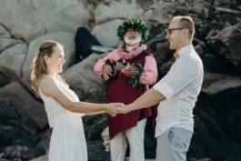 Andrea aDavid: Uvolněná svatba na Havaji