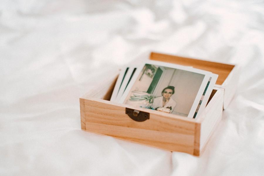 Svatební polaroidové fotografie