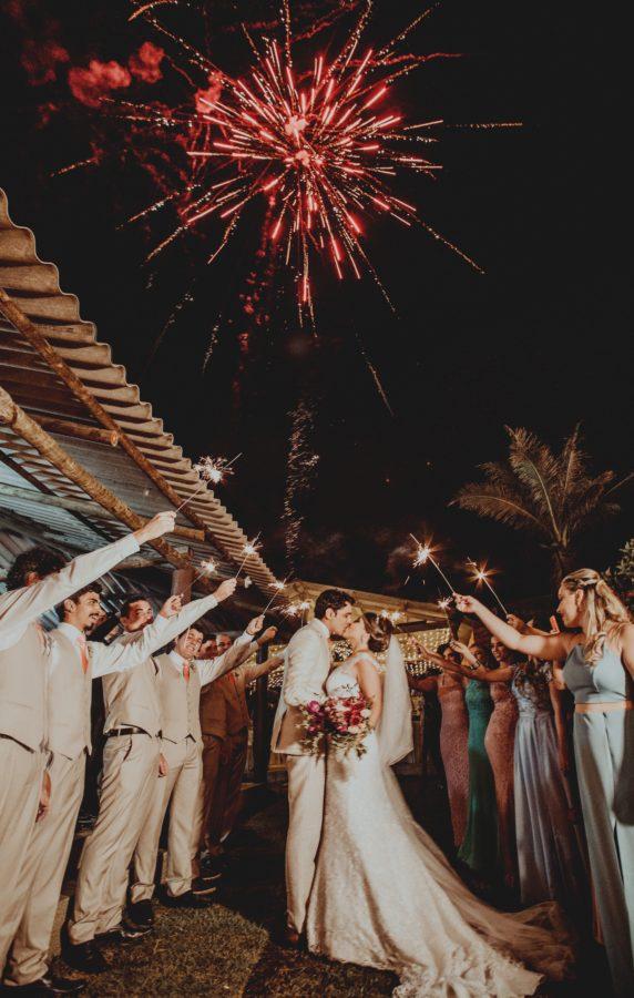 noční svatba