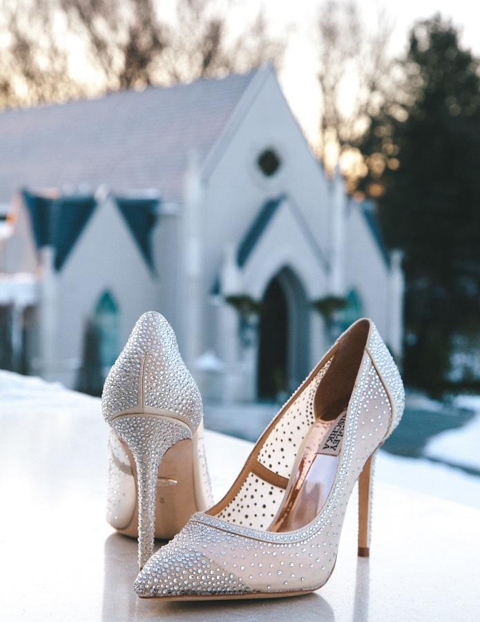 svatební střevíčky