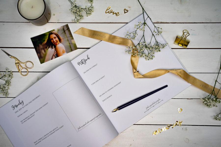 svatební kniha svatebník