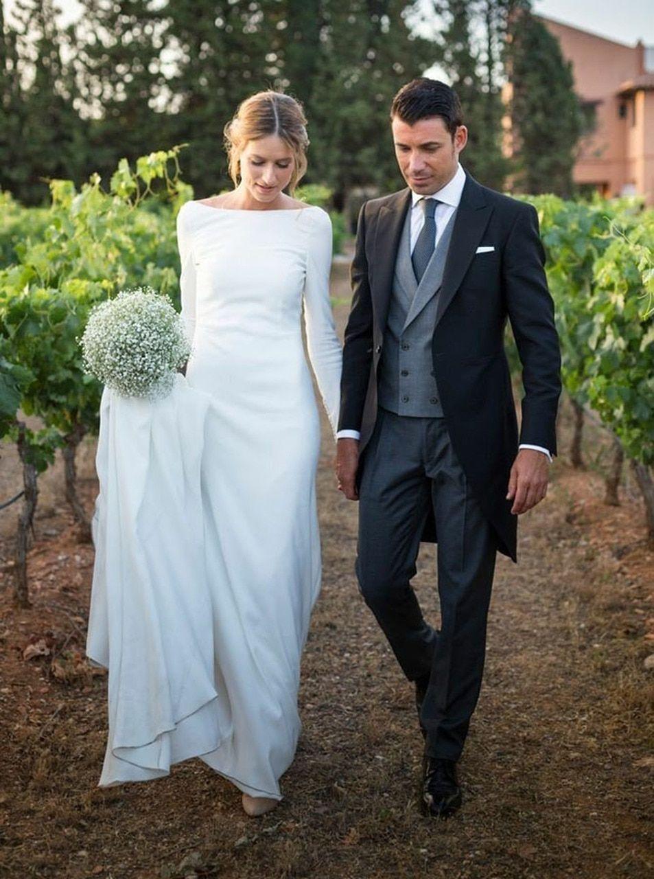 elegantní svatební šaty