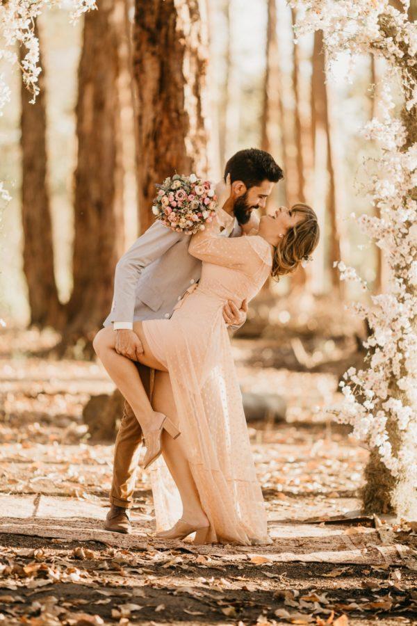 svatba lesní